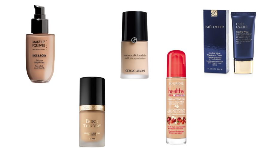 The most favourite liquid foundations of czech makeup artists